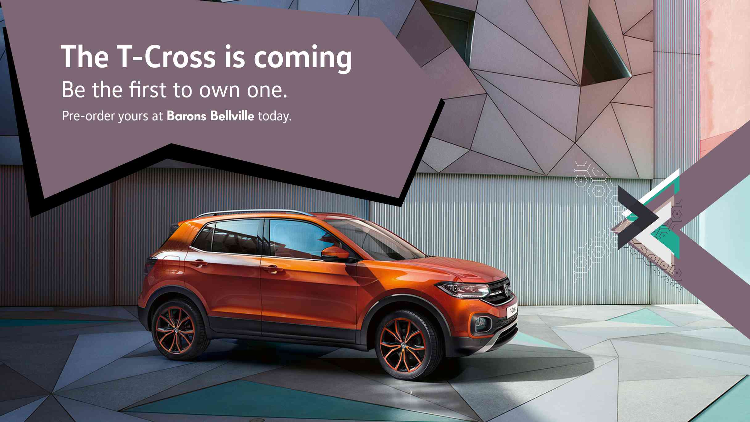 The VW T-Cross is coming