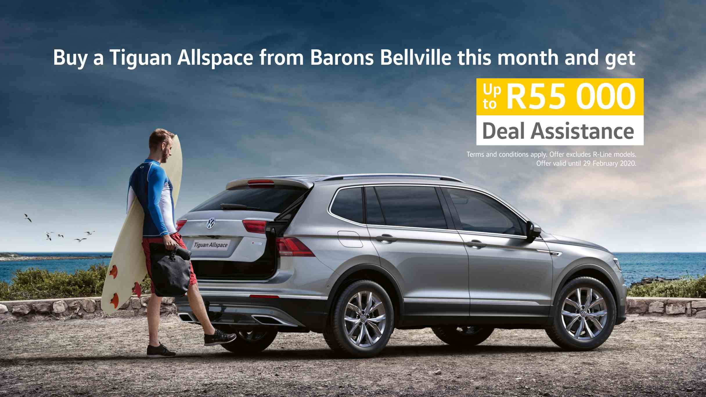 VW Tiguan Allspace special new year offer