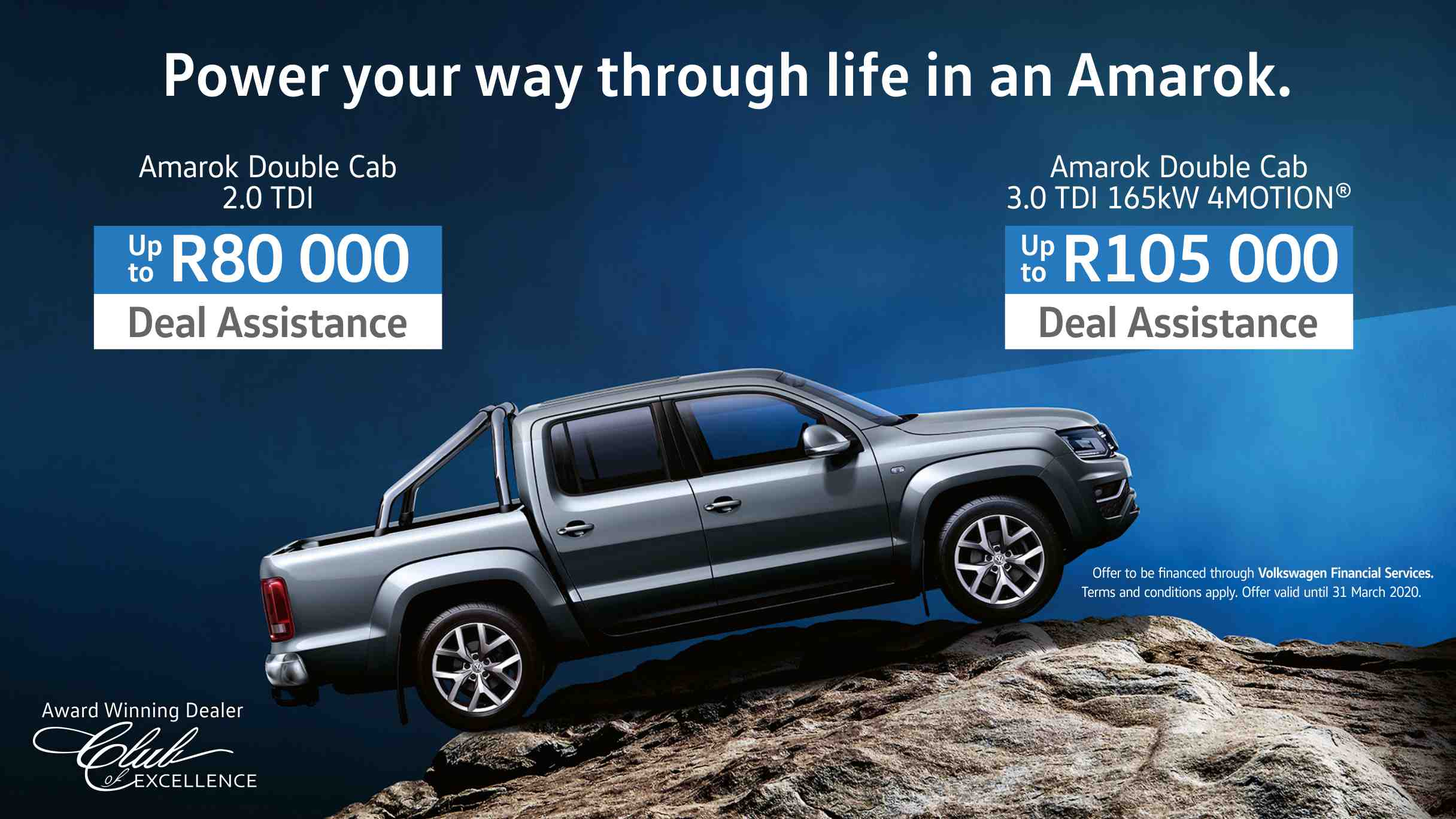 VW Amarok bakkie special offer